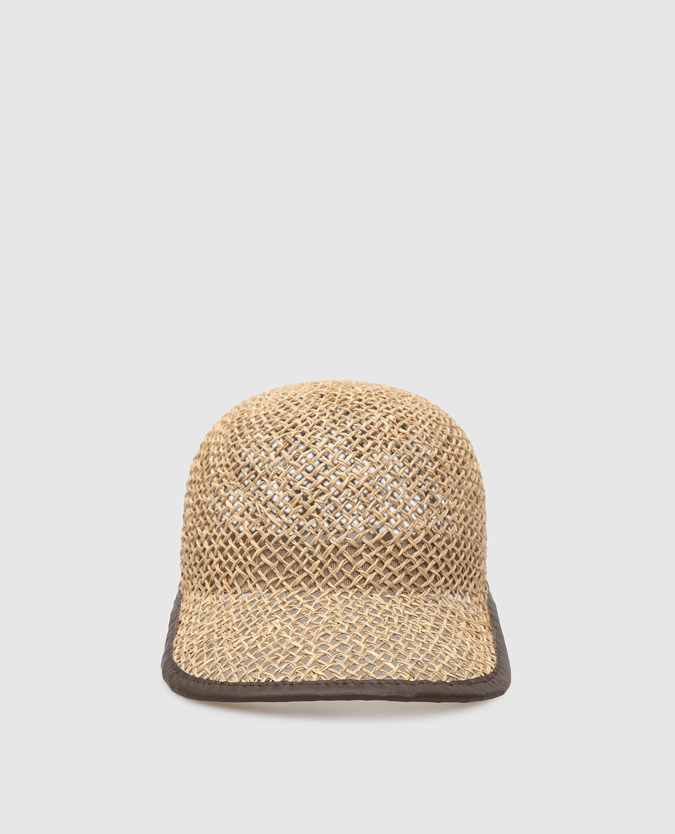 Соломенная кепка Peserico