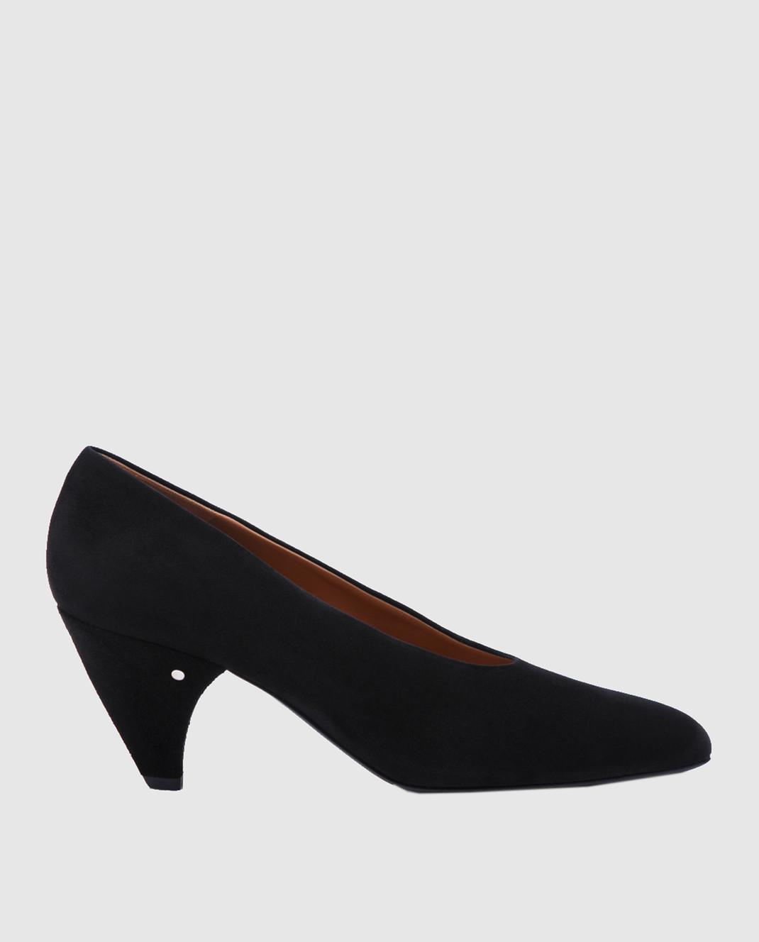Laurence Dacade Черные замшевые туфли Sabi SABI
