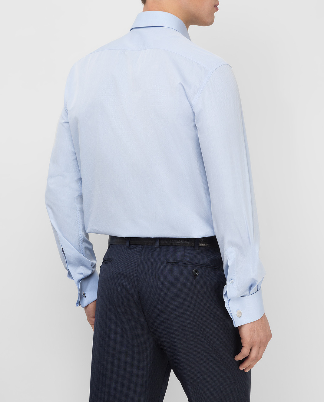 Stefano Ricci Голубая рубашка MC000591L1601 изображение 4