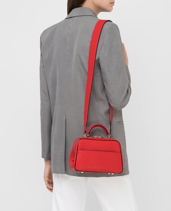 Красная кожаная сумка hover