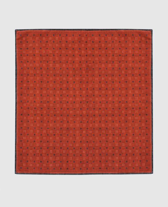 Терракотовый платок