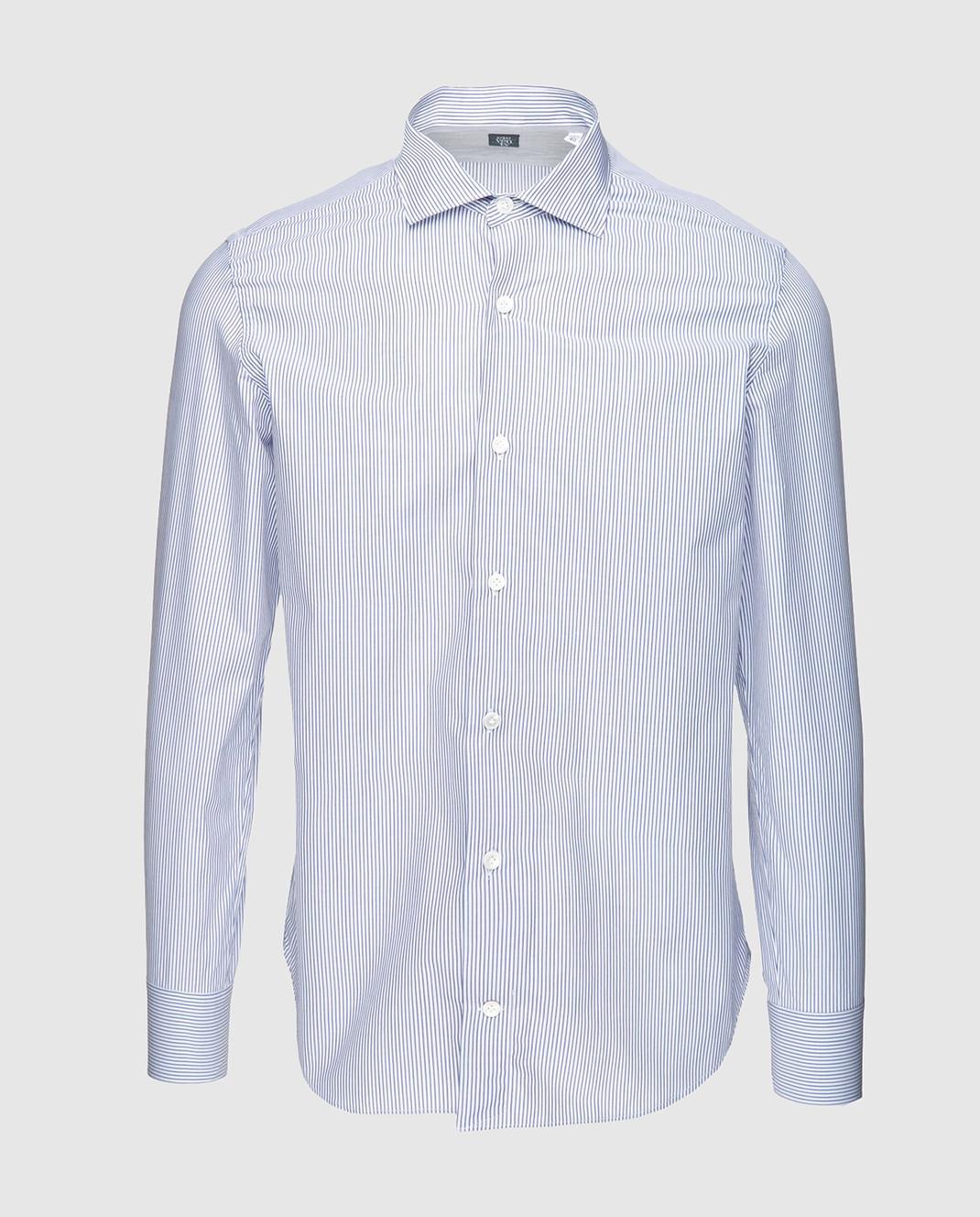 Eleventy Голубая рубашка 979CA0001CAM24003