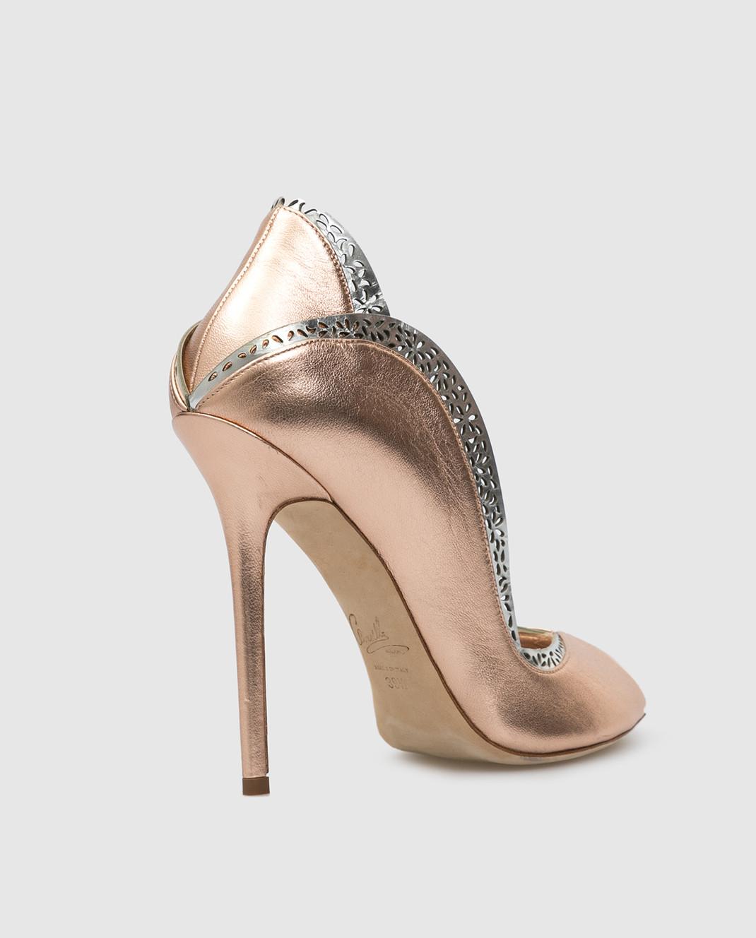Cerasella Кожаные туфли DANAESPECCHIO изображение 4