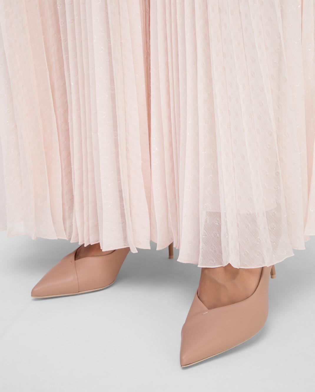 Philosophy di Lorenzo Serafini Светло-розовая юбка изображение 5