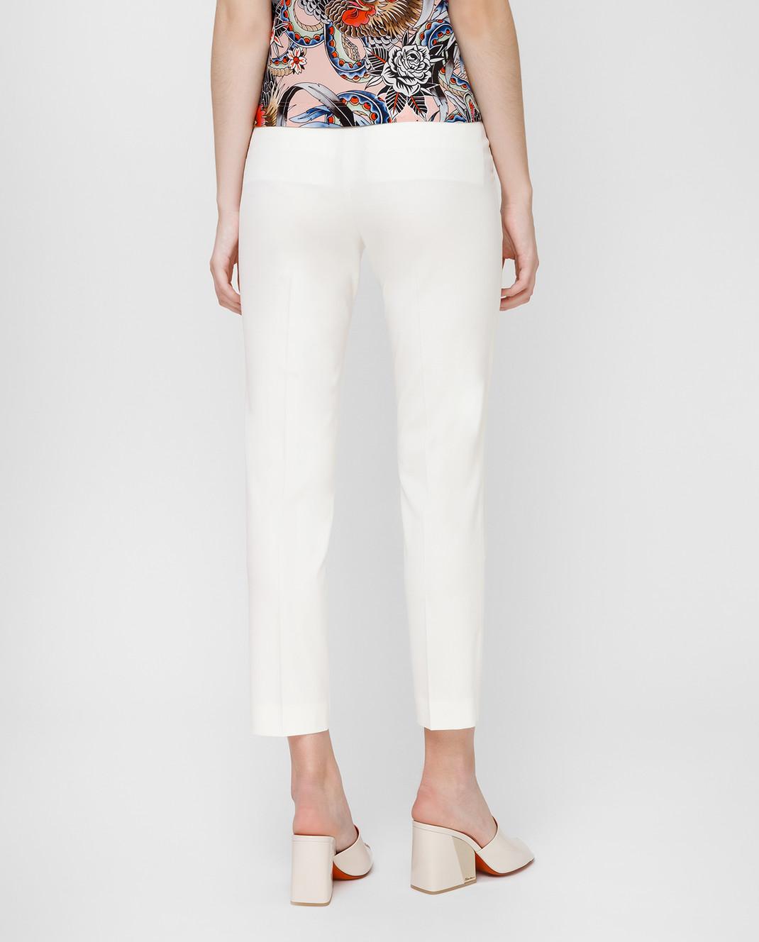 Red Valentino Белые брюки RR3RB0B0WBP изображение 4