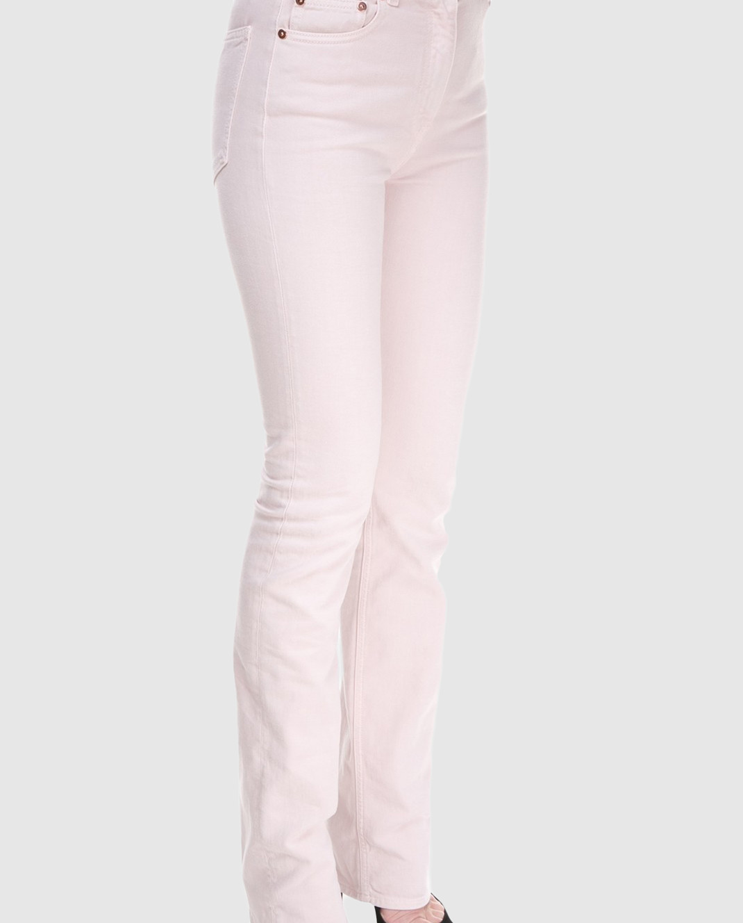Valentino Пудровые джинсы PB0DD06J3WC изображение 3