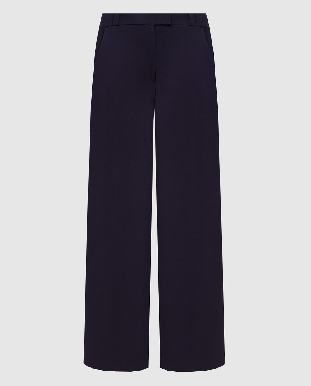 Maison Ullens Фиолетовые брюки PAN082