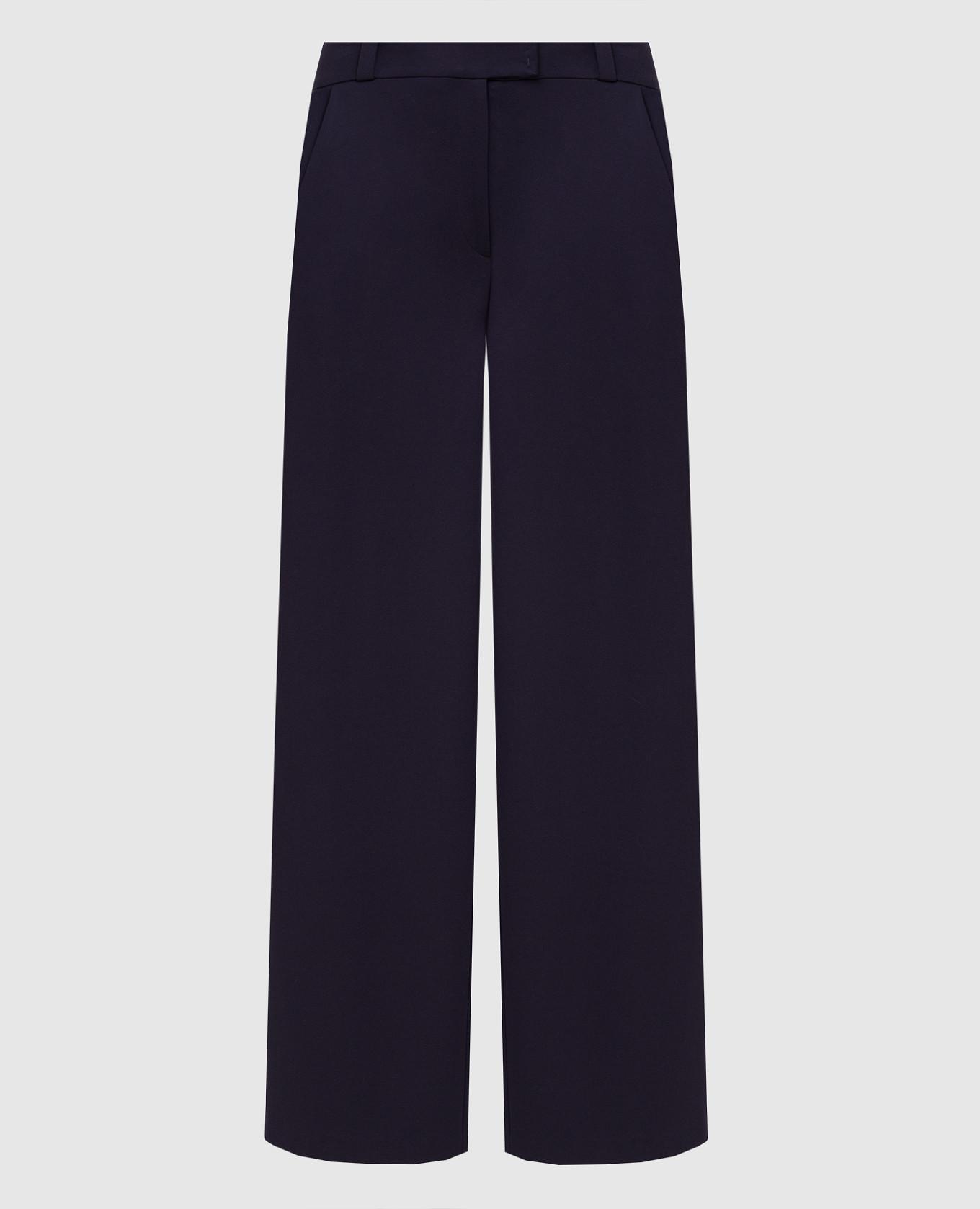 Фиолетовые брюки Maison Ullens