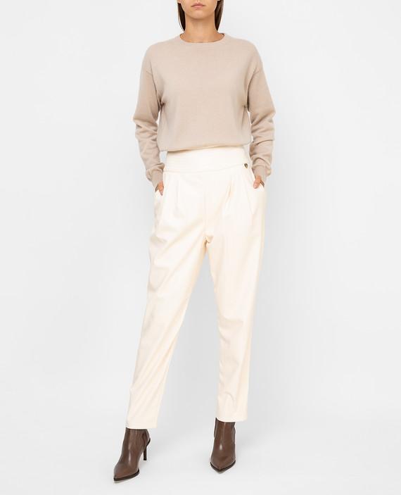 Светло-бежевые брюки hover