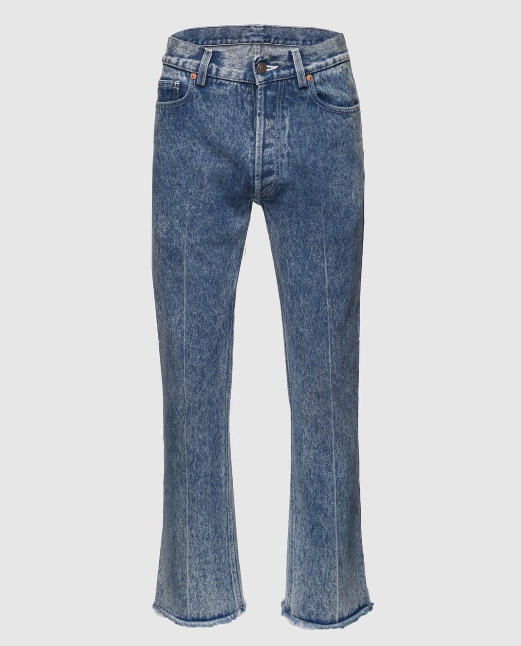 Gucci Синие джинсы 524365