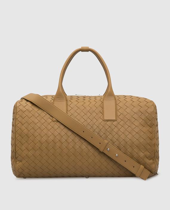 Горчичная кожаная сумка