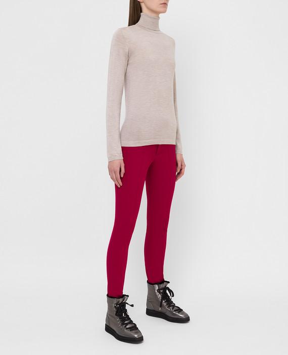 Розовые горнолыжные брюки hover