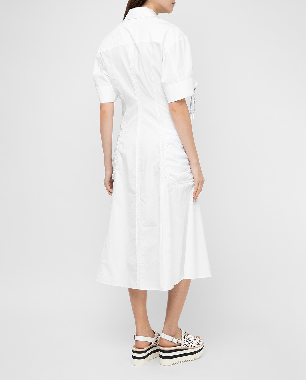 Max Mara Sportmax Белое платье  ELMI изображение 4