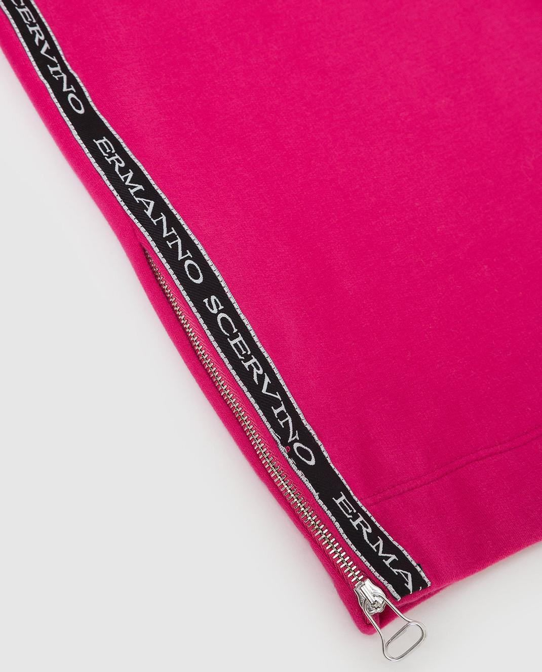 Ermanno Scervino Детское розовое платье AB181012 изображение 3