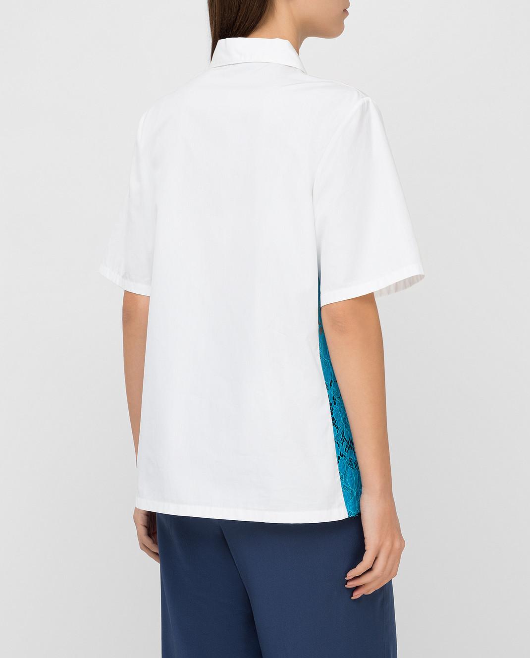 Prada Белая рубашка P461AU изображение 4