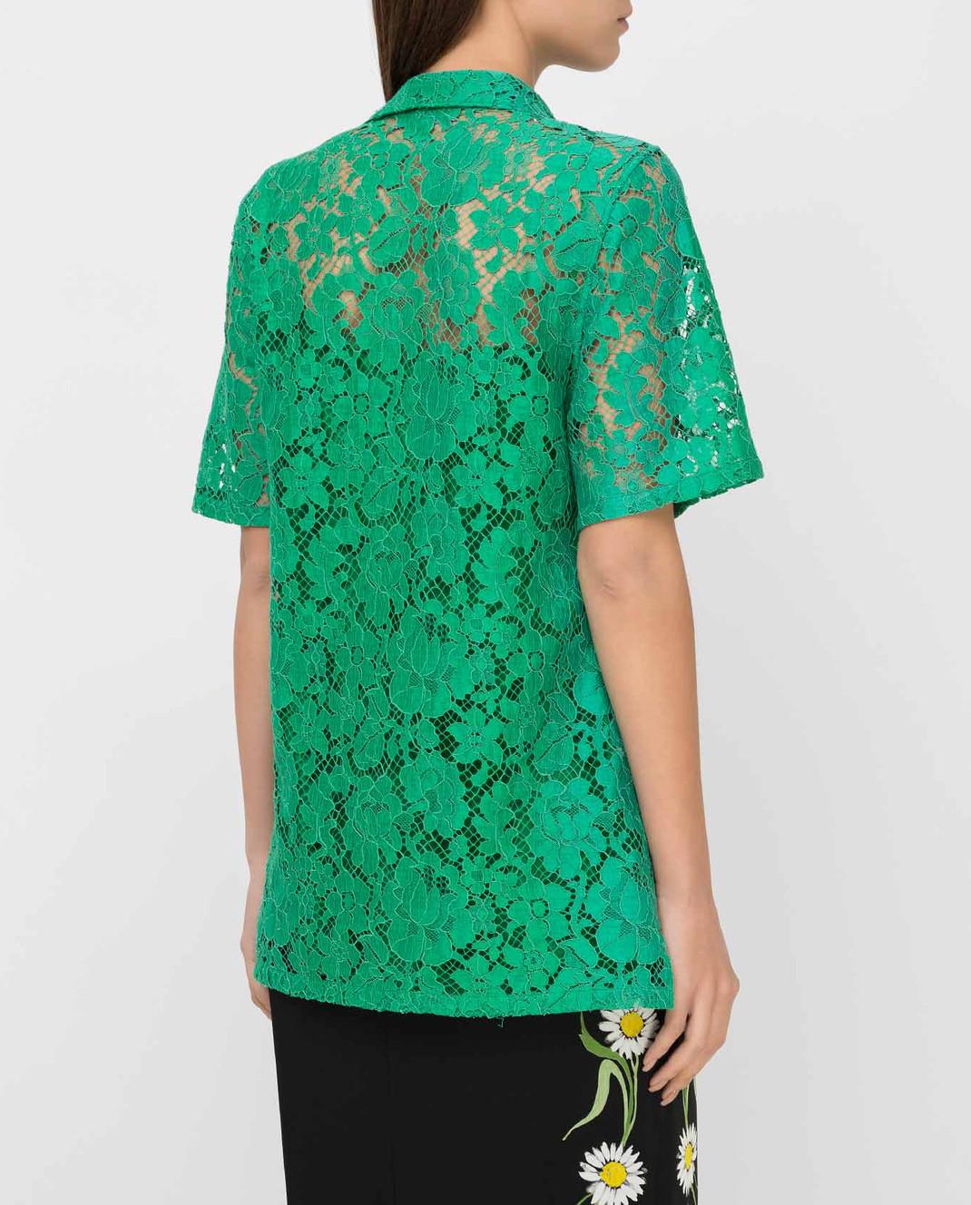 Prada Зеленая рубашка изображение 4