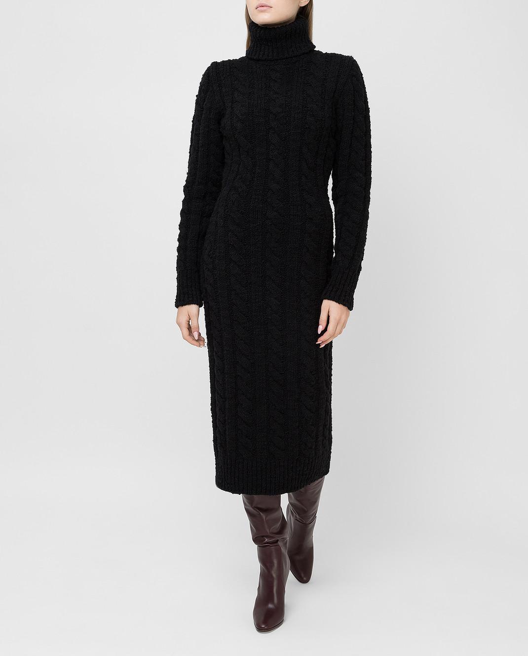 Dolce&Gabbana Черное платье изображение 2
