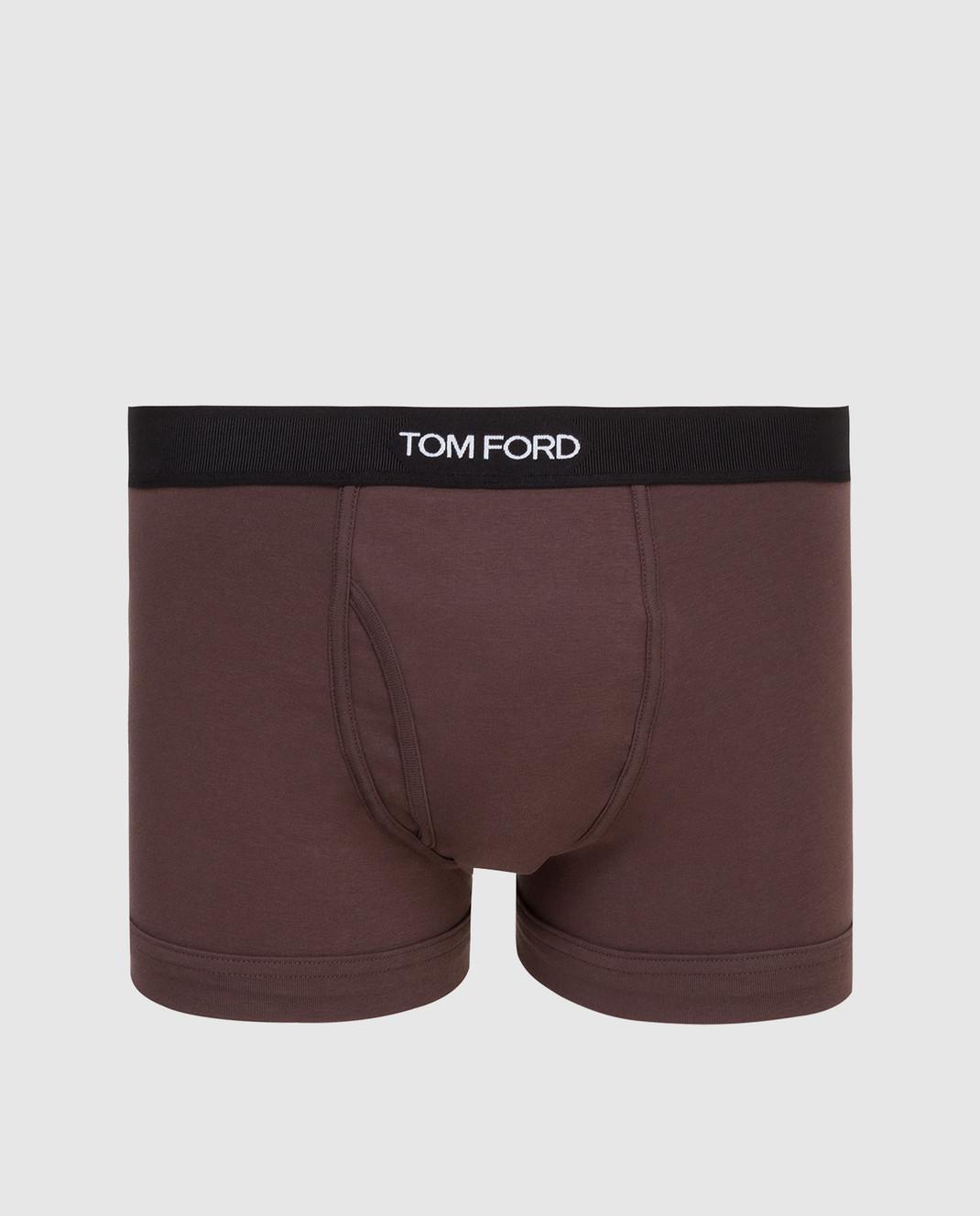 Tom Ford Коричневые трусы изображение 1