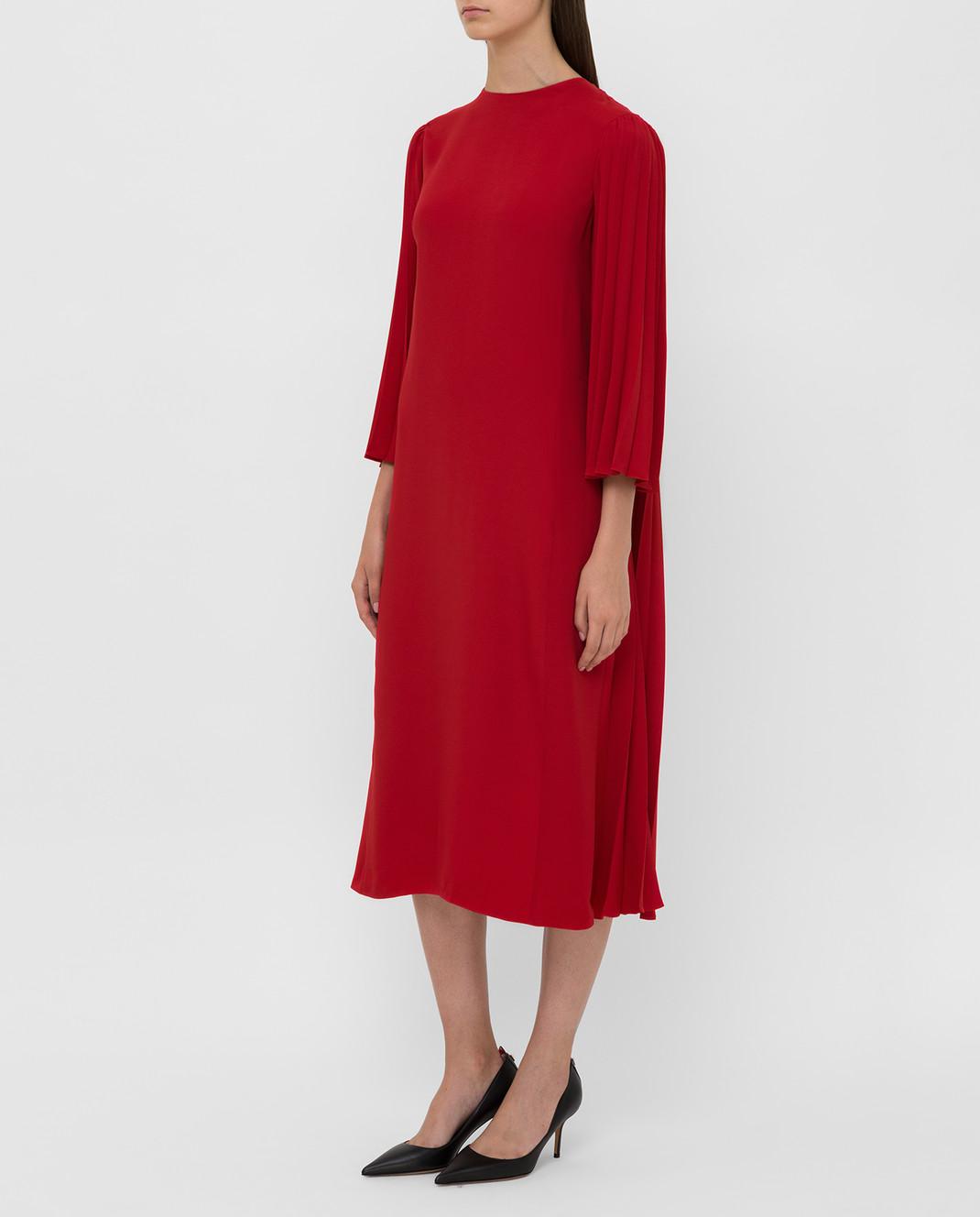 Valentino Красное платье SB3VAN104NK изображение 3