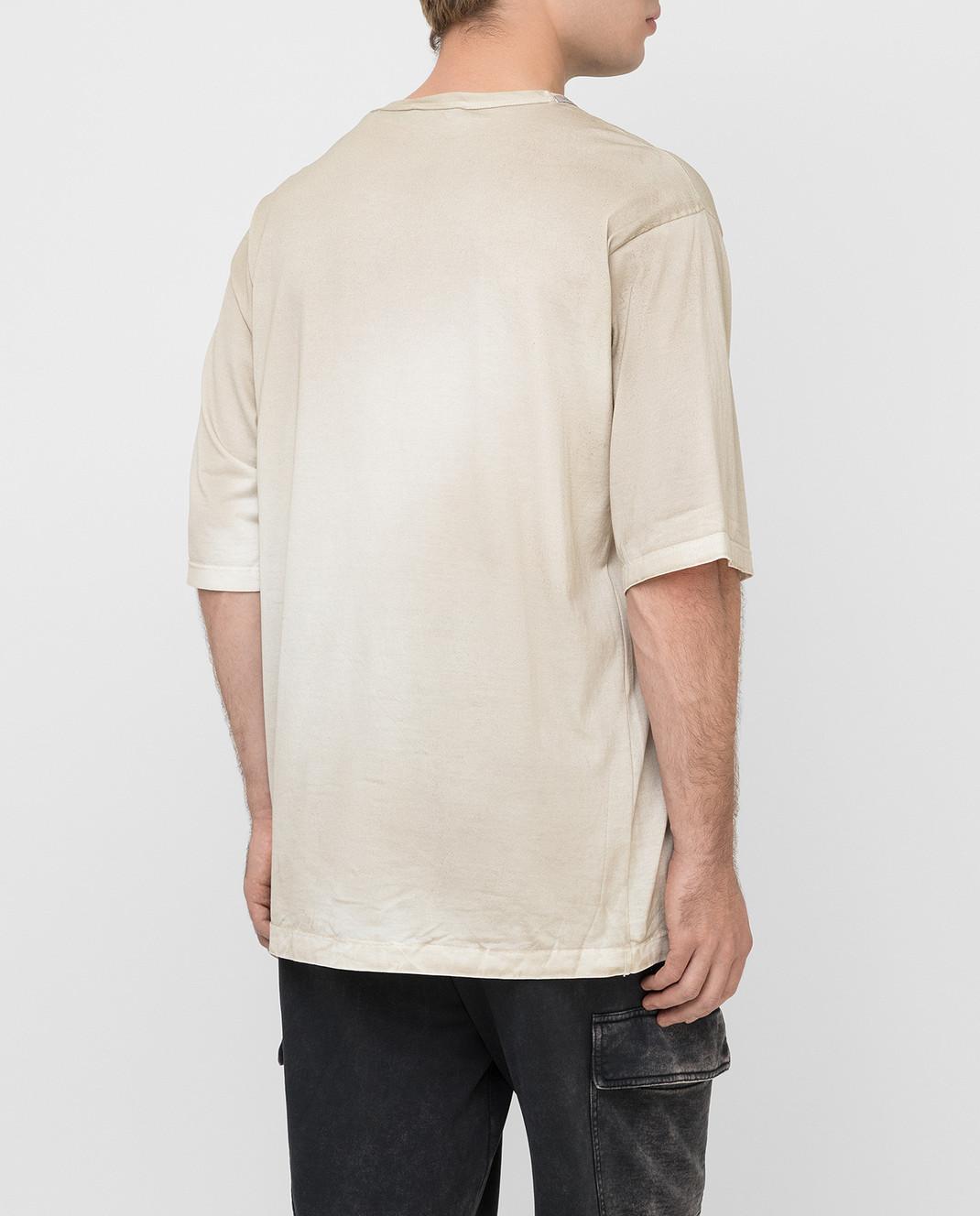 Dolce&Gabbana Бежевая футболка изображение 4