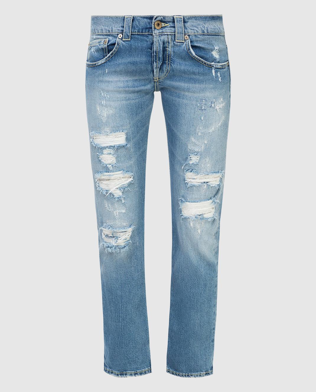 Dondup Синие джинсы P857