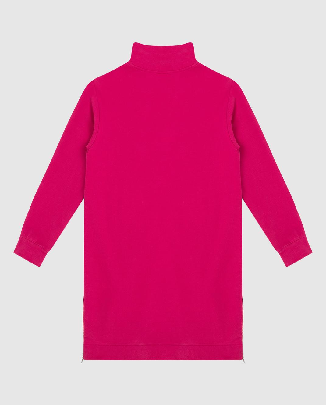 Ermanno Scervino Детское розовое платье AB181012 изображение 2