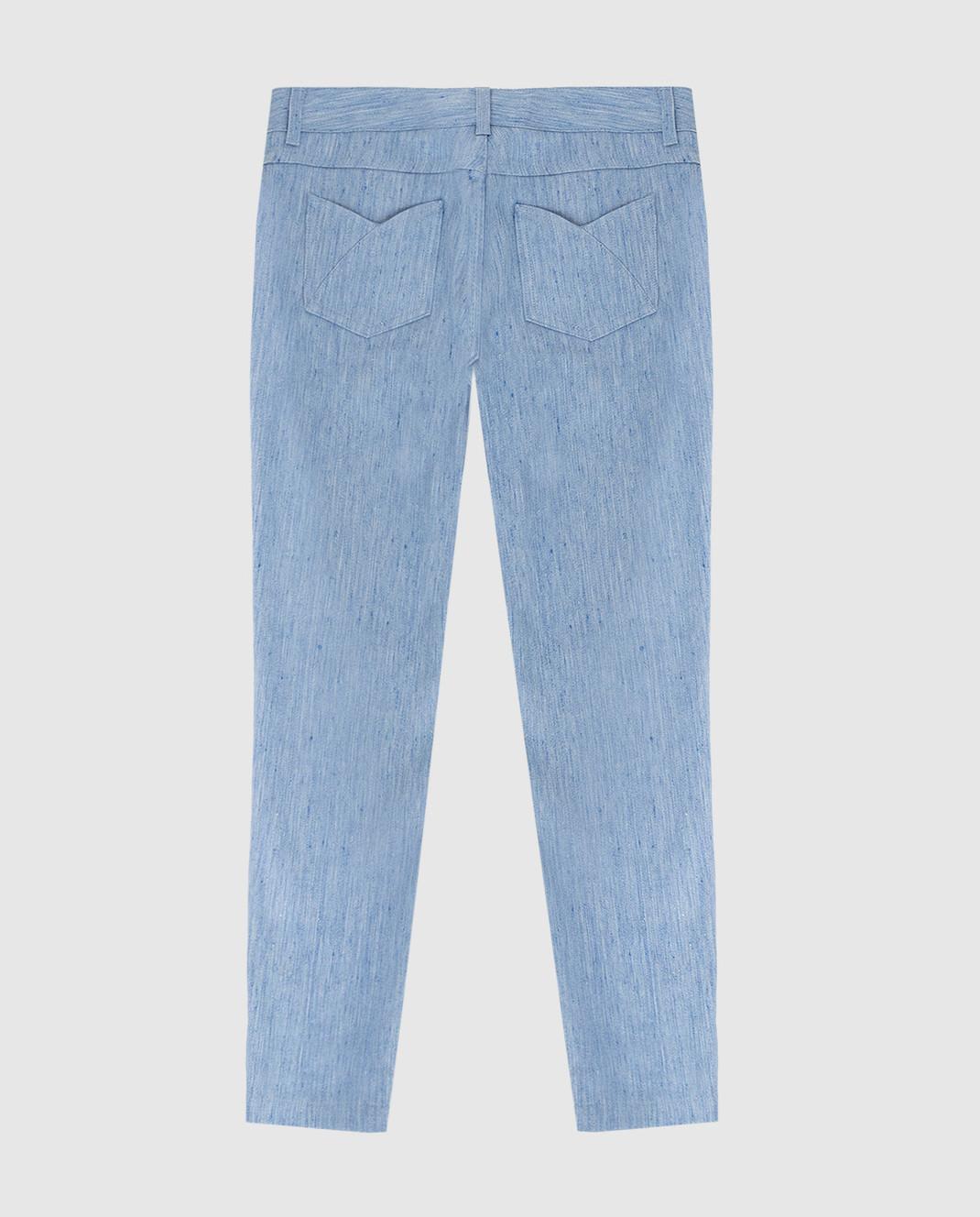 Loro Piana Детские голубые джинсы F1FAI0907 изображение 2