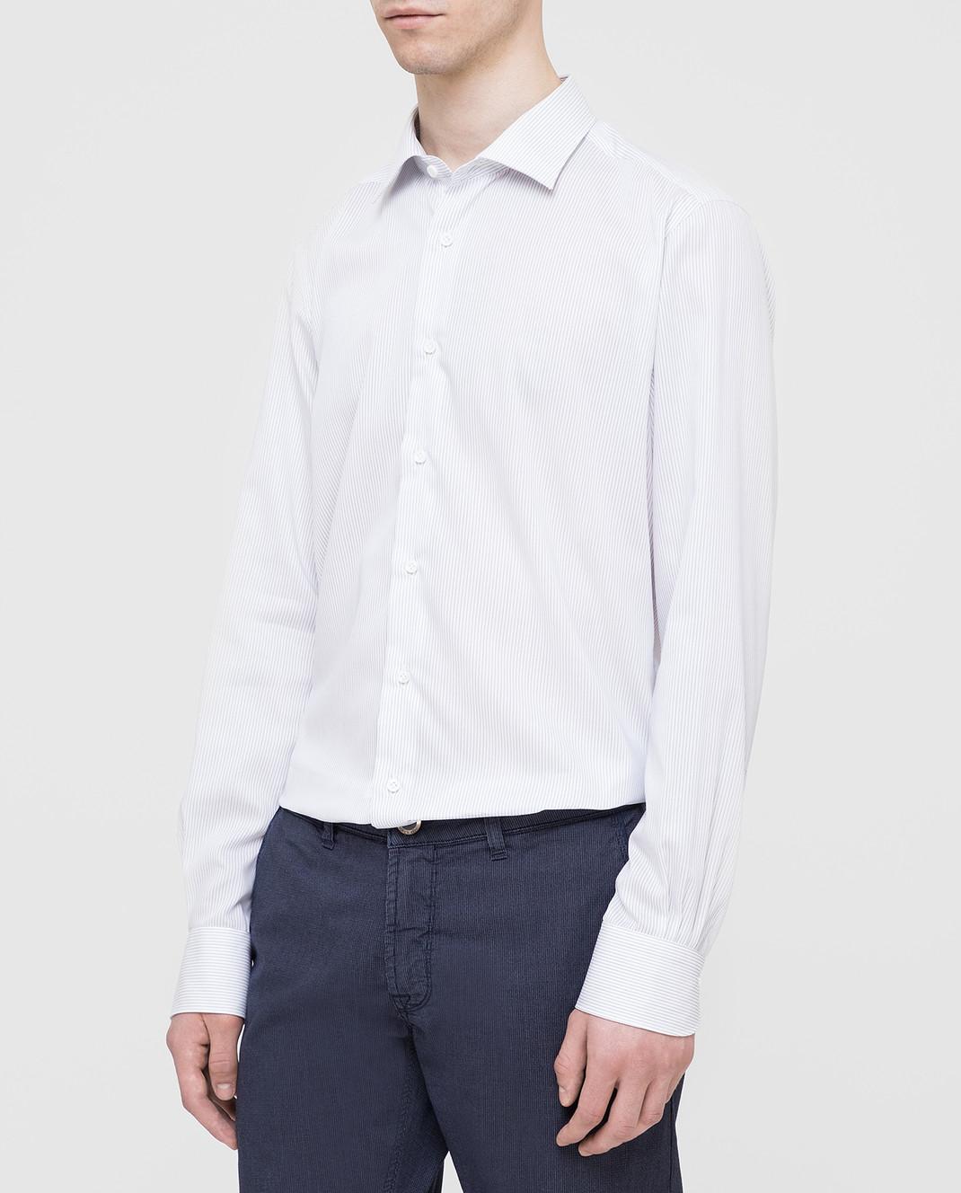 Carrel Белая рубашка на пуговицах C4510418G изображение 3
