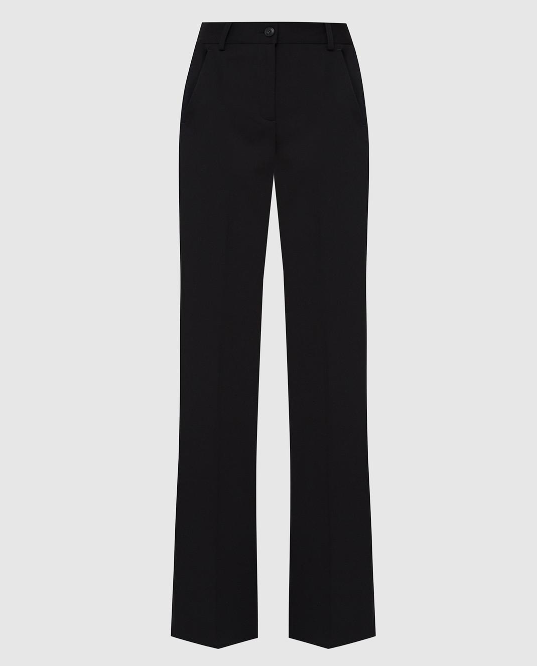 Roberto Cavalli Черные брюки из шерсти DWT211