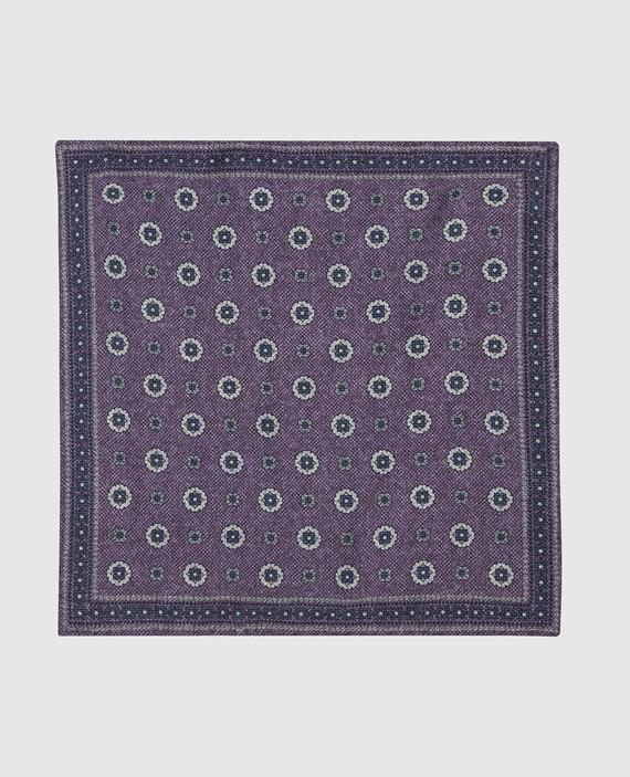 Двухсторонний платок из шерсти