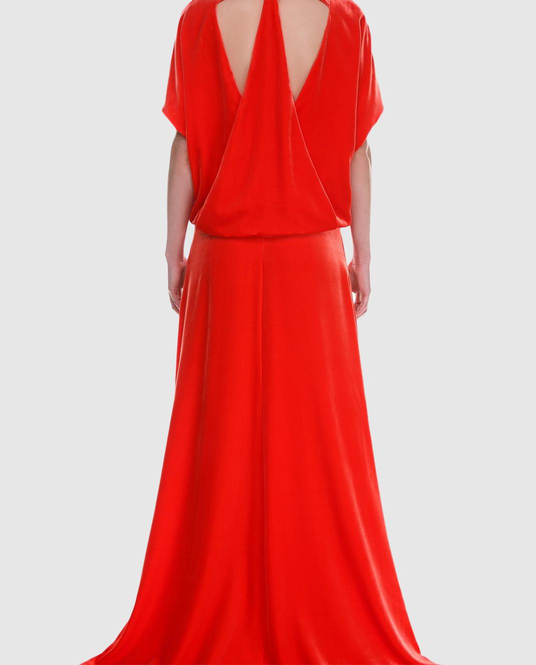 Valentino Красное платье PB0VD7E53TF изображение 4