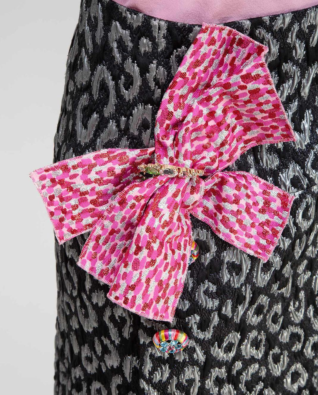 Dolce&Gabbana Черная юбка F4AZUZGDE88 изображение 5