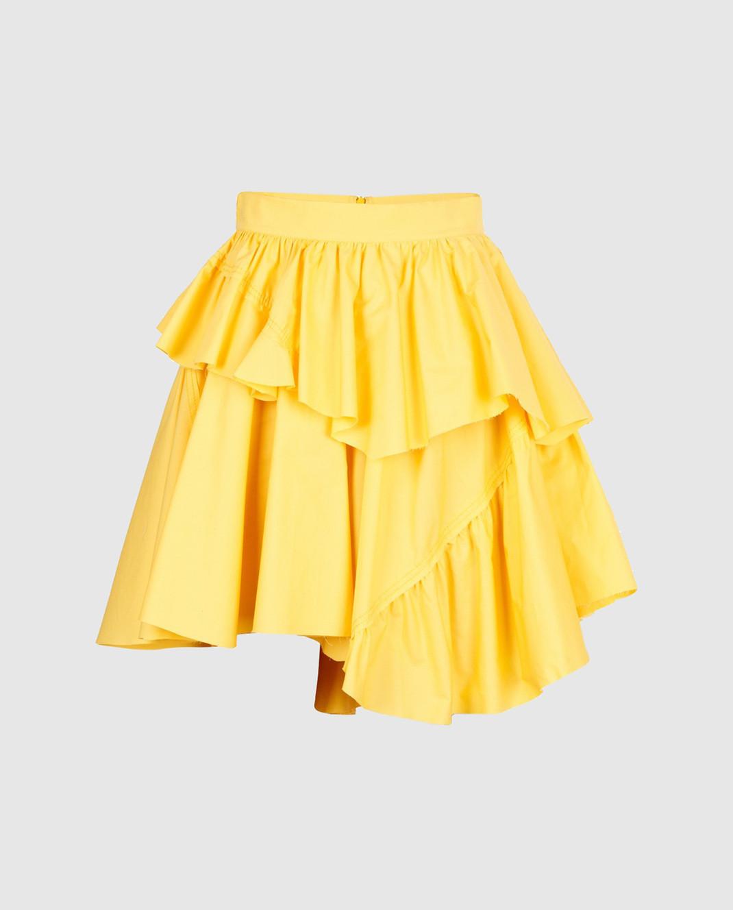 Philosophy di Lorenzo Serafini Желтая юбка A01042143