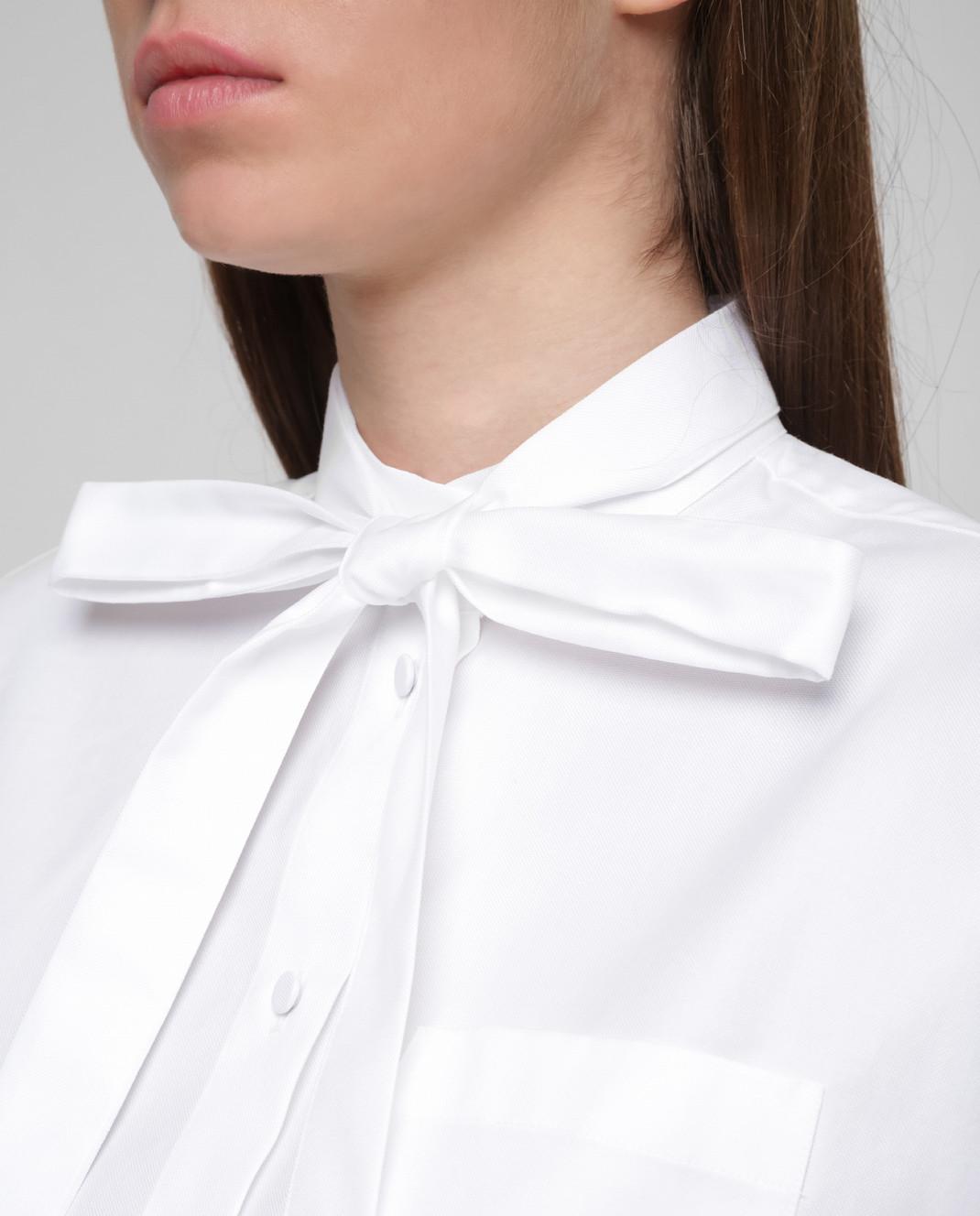 Valentino Белая рубашка RB3AB12U4F4 изображение 5