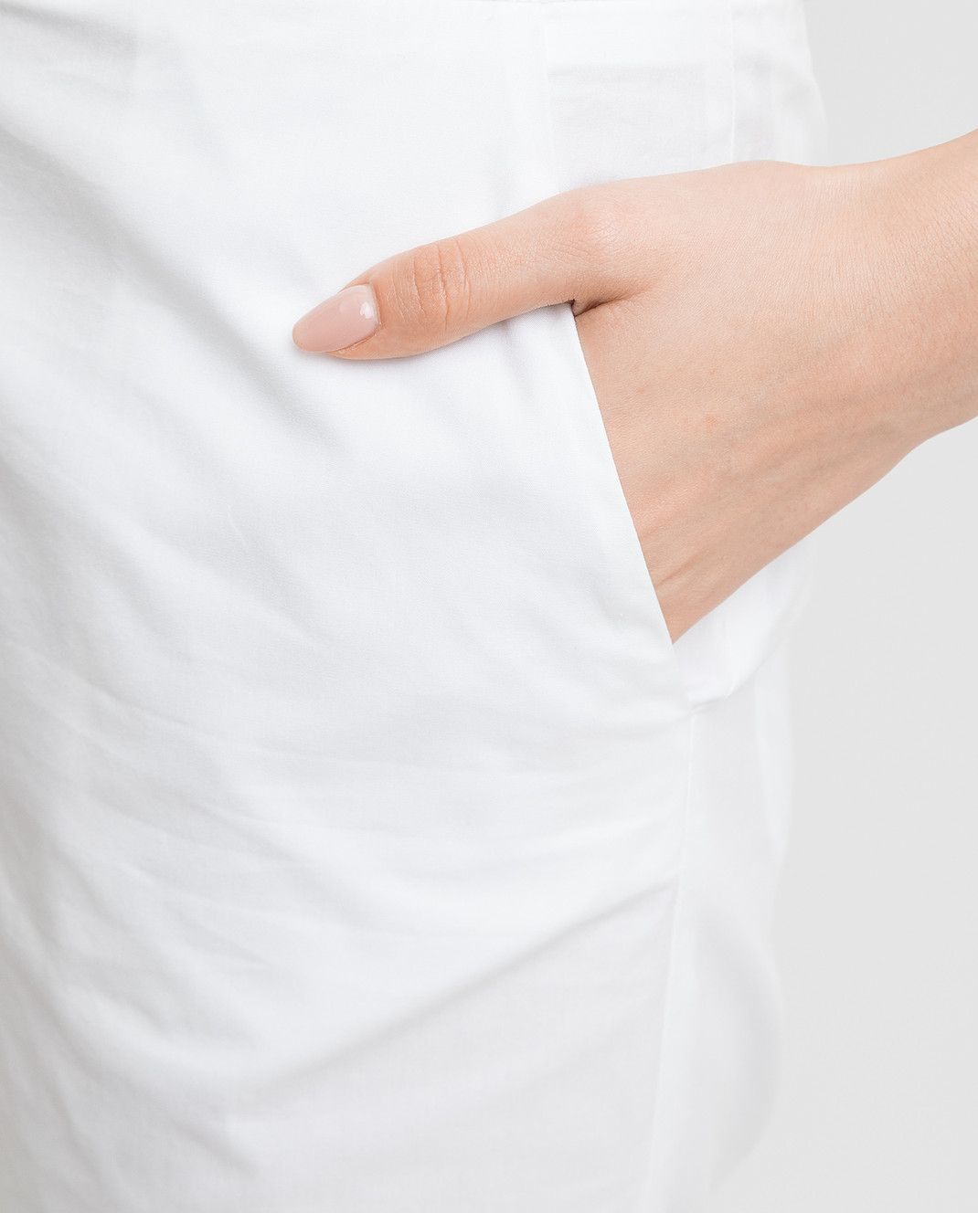 Ermanno Scervino Белые брюки изображение 5
