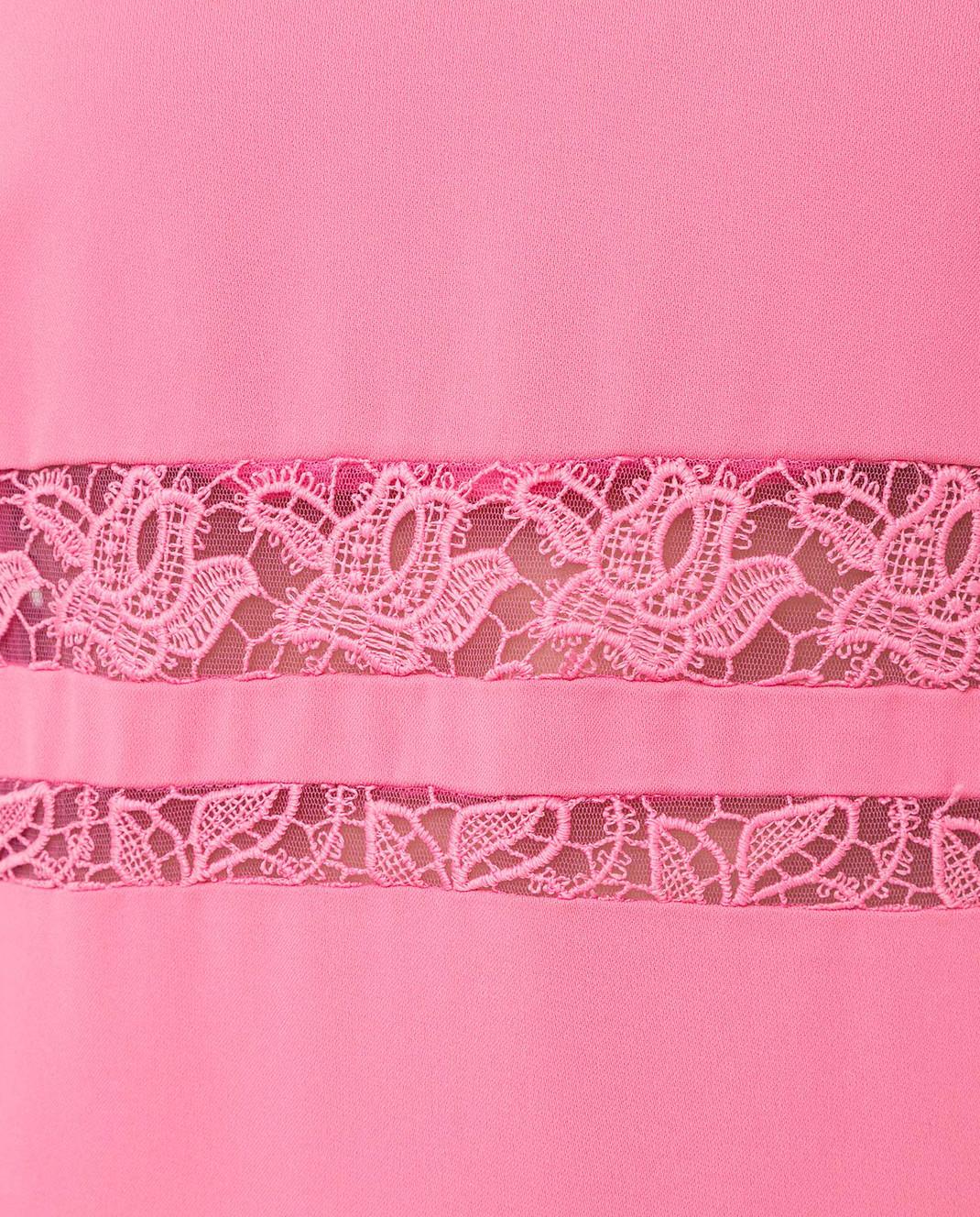 Ermanno Scervino Розовое платье D262Q365CYX изображение 5