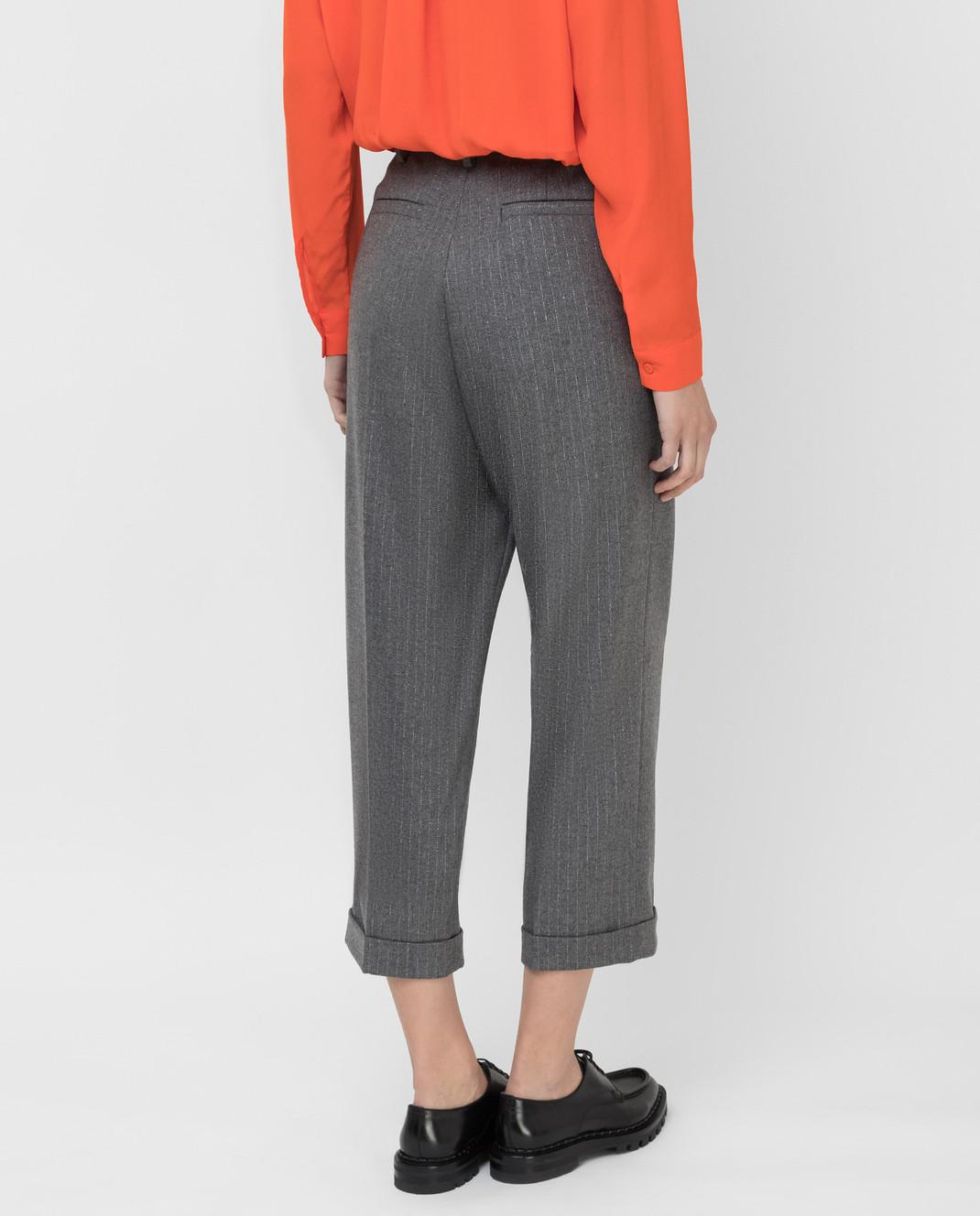 Twin Set Серые брюки изображение 4