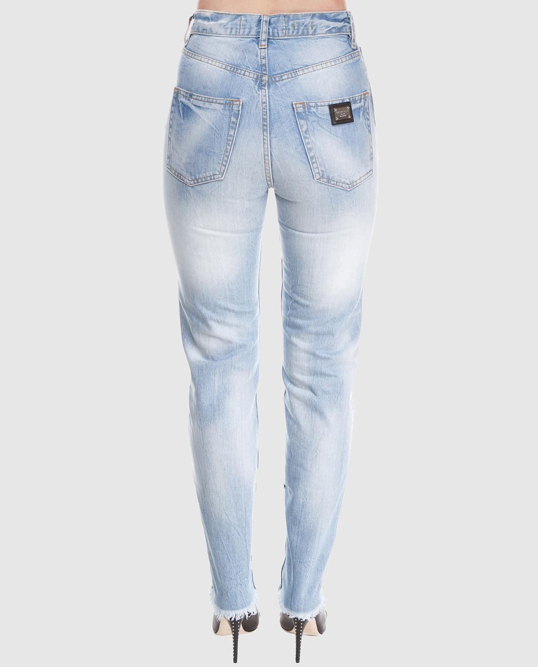 Philipp Plein Голубые джинсы изображение 4