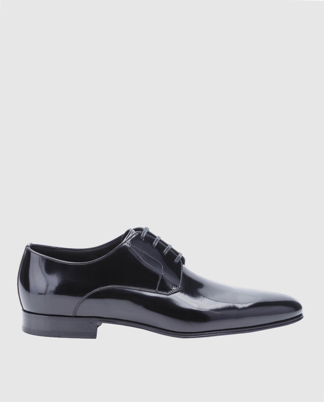 Dolce&Gabbana Черные кожаные дерби A10379A1203
