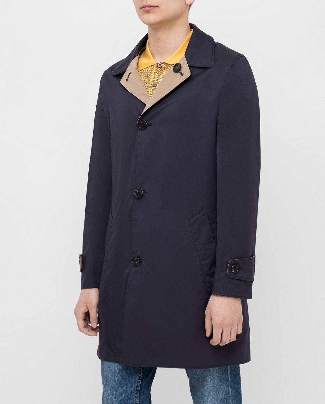 Brunello Cucinelli Двухстороннее пальто MD4506148 изображение 3