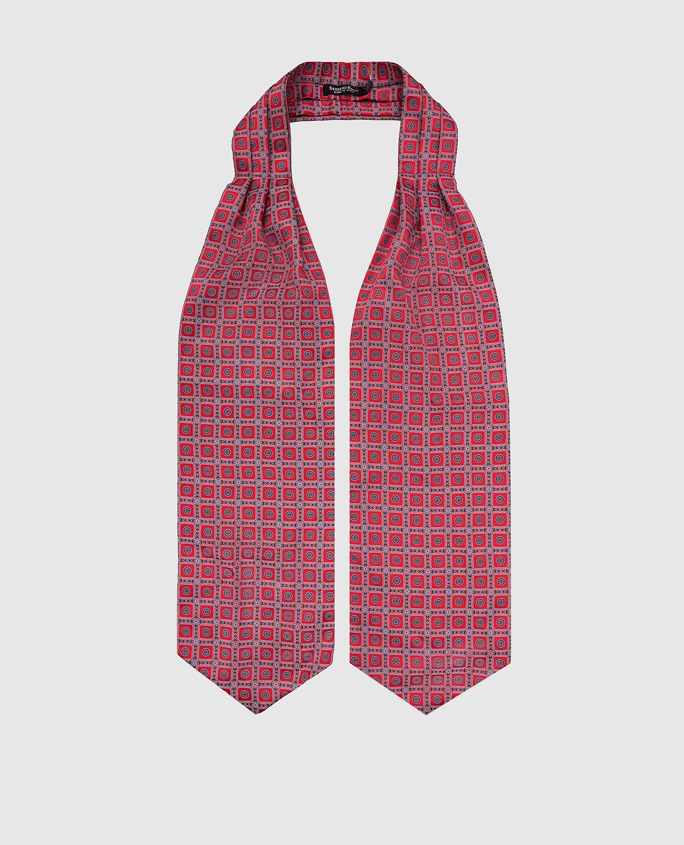 Шелковый галстук Аскот Stefano Ricci