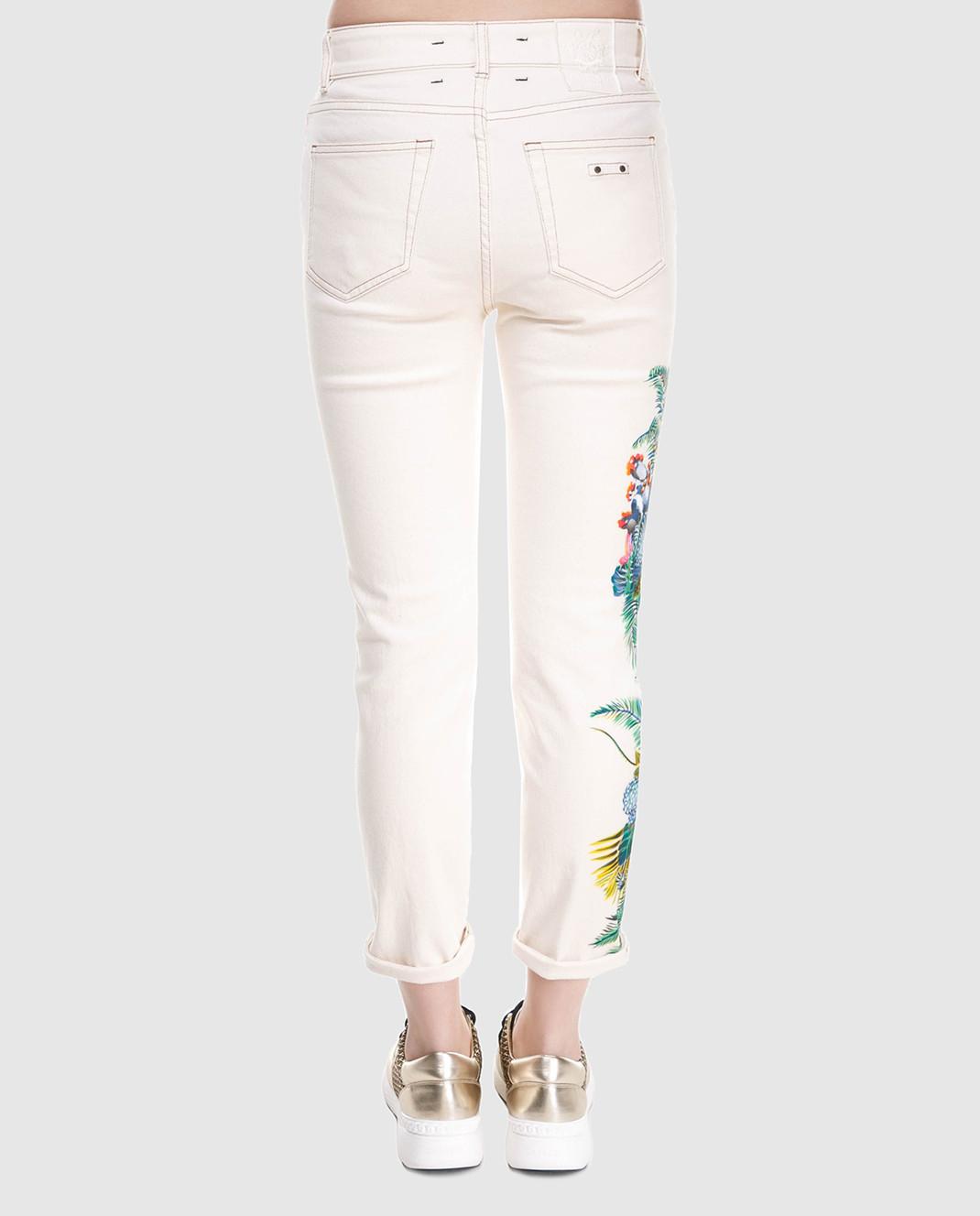 Mr&Mrs Italy Белые джинсы JE091E изображение 4