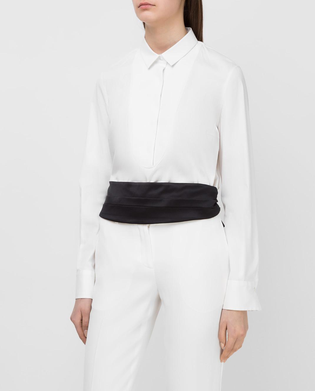 Brunello Cucinelli Белая рубашка M0091M6215 изображение 3