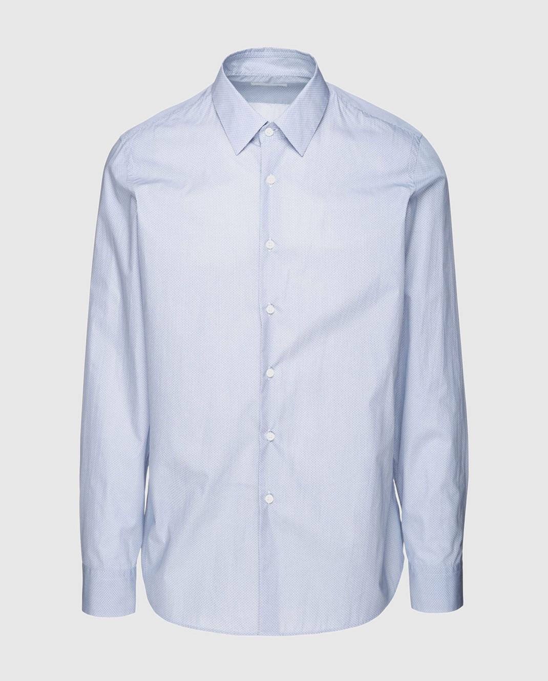 Prada Голубая рубашка UCM6081P9U