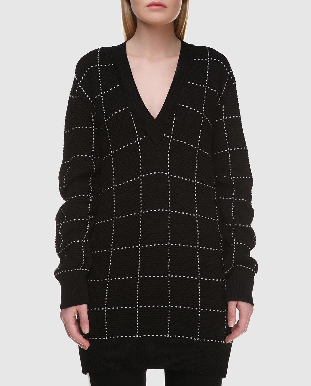 Balmain Черный свитер 136667 изображение 3