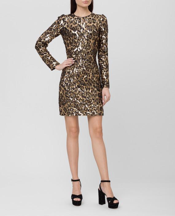 Золотистое платье hover