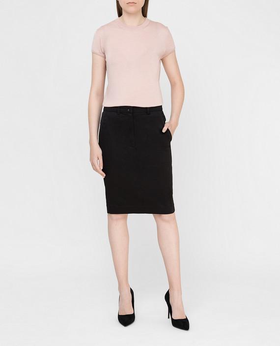 Черная юбка hover