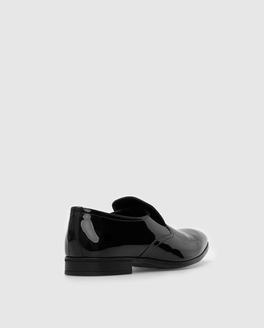 Prada Черные кожаные лоферы 2DC129 изображение 4