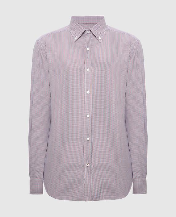 Коричневая рубашка