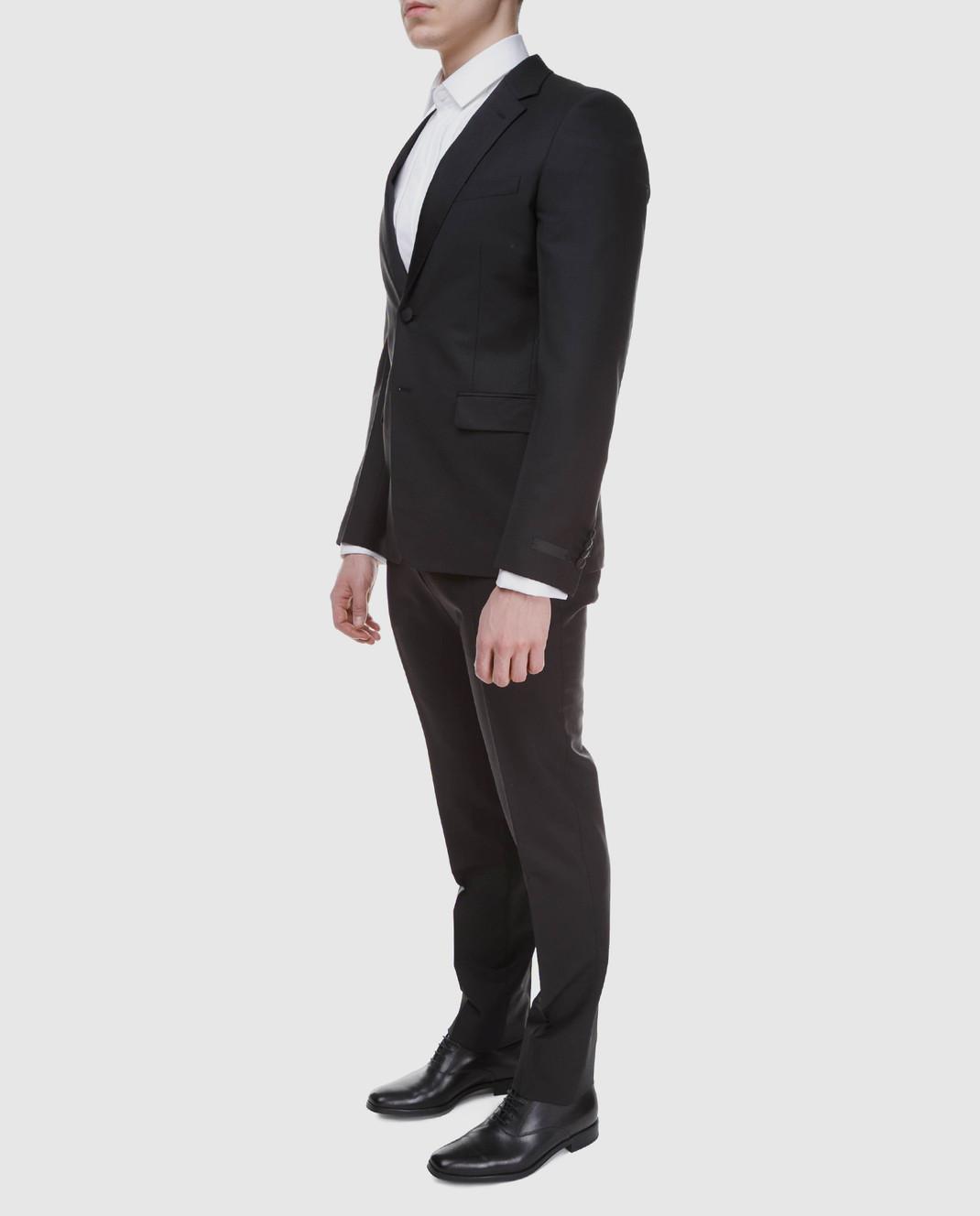 Prada Черный костюм из мохера и шерсти UAF4201KNB изображение 3